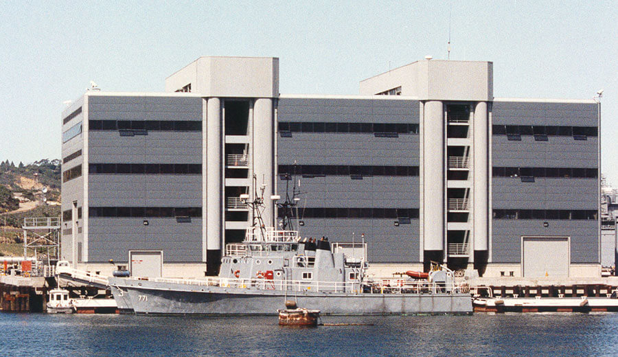 SEOC-SRA Support Facility, Submarine Base