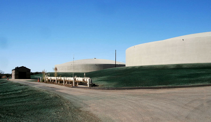 New Main Water Reservoir Facility