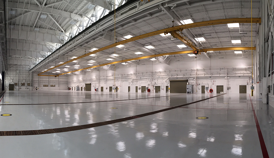 P-181 Hangar 5 at MCAS, Miramar